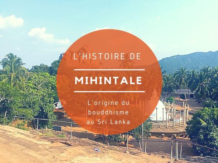 mihintale-histoire