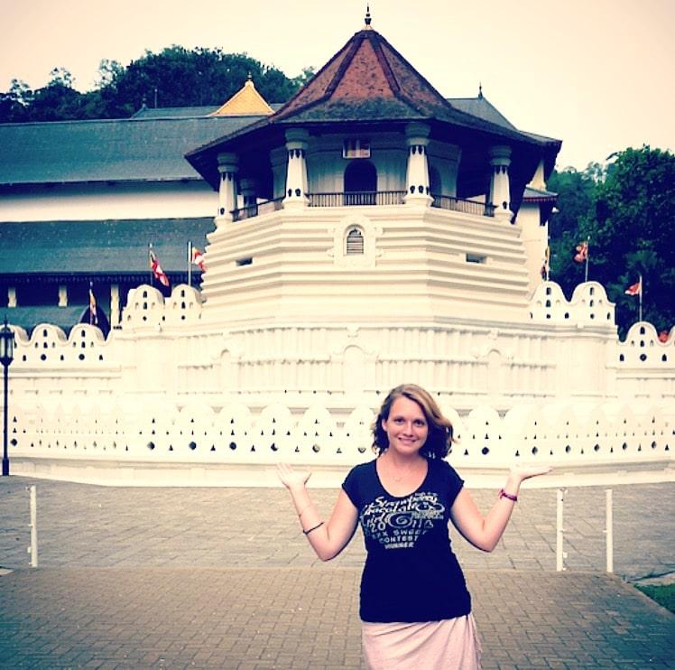 Caroline Tongs et Sri Lanka