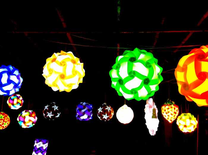 Lanternes en Thaïlandes