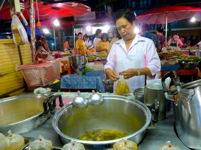 street food en Thaïlande