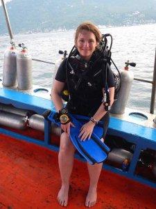 Tongs et Sri Lanka en plongée à Koh Tao