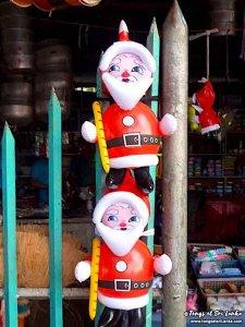Décoration de Noël au Sri Lanka