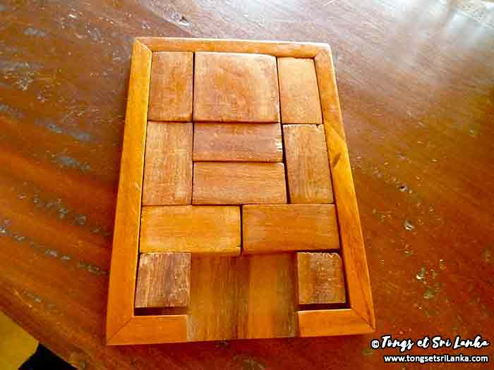 Jeu du puzzle sri lankais par Tongs et Sri Lanka