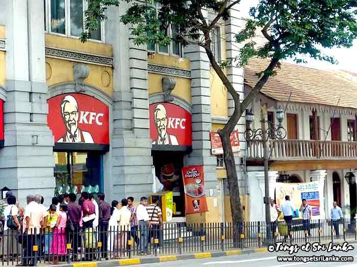 KFC au Sri Lanka à Kandy