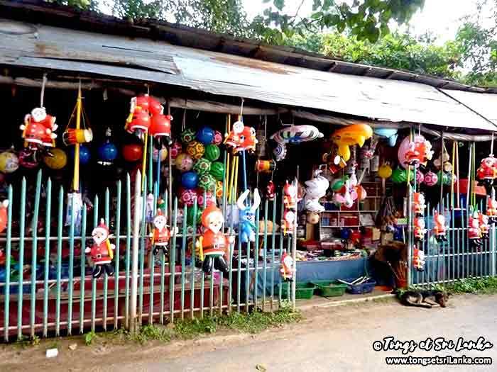La magie de Noël au Sri Lanka dans les magasins