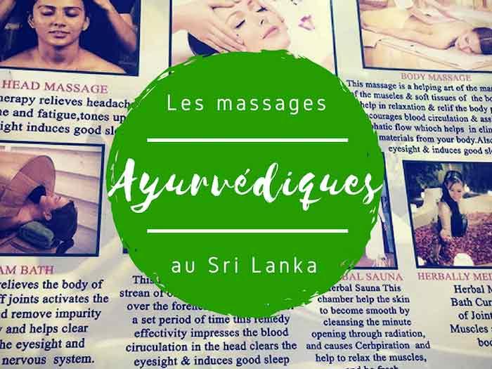 massages ayurvédiques au Sri Lanka