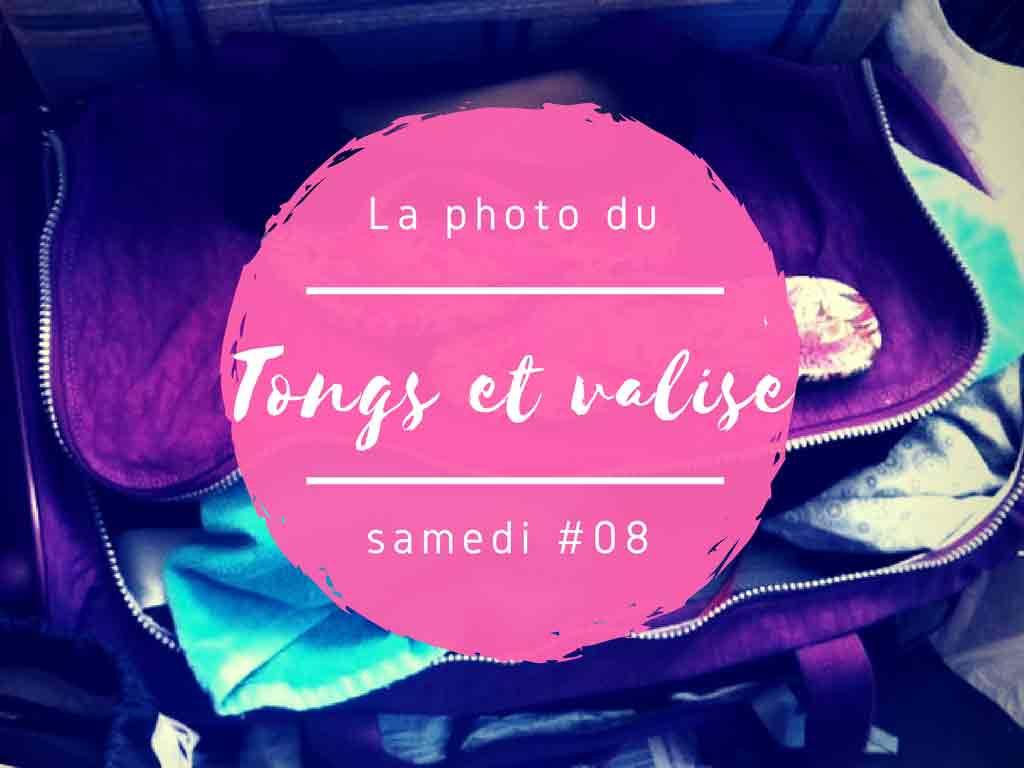 Un samedi, une photo sri lankaise #8 – Tongs et valise, prêtes !