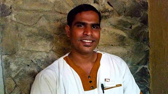 Prasantha formateur aux massages ayurvédiques au sri lanka