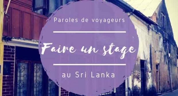 Paroles de voyageurs #14 – Anaïs et son stage au Sri Lanka !