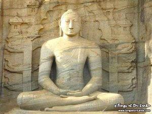 Bouddha de Polonnaruwa au Sri Lanka par Tongs et Sri Lanka