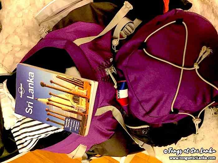 budget au Sri Lanka du voyageur backpacker par Tongs et Sri Lanka