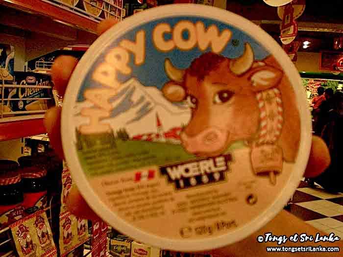 fromage au sri lanka ou la vache qui rit locale