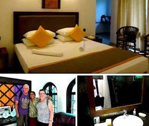 Hôtel à Dambulla par Madeleine - Damulla Roch Arch - Tongs et Sri Lanka hébergement 2017