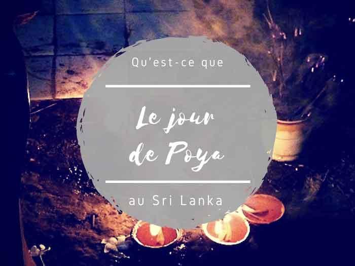jour de poya au Sri Lanka