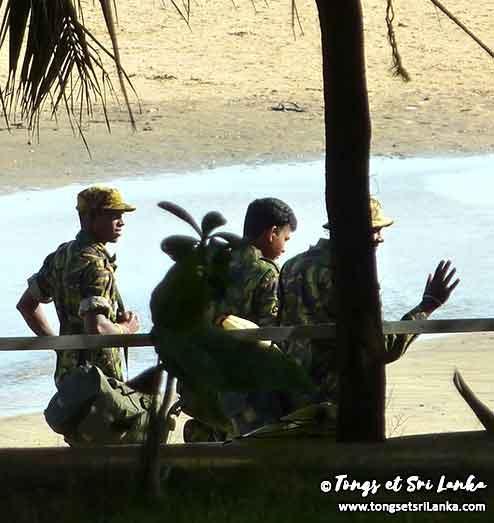 Militaires au Sri Lanka par Tongs et Sri Lanka