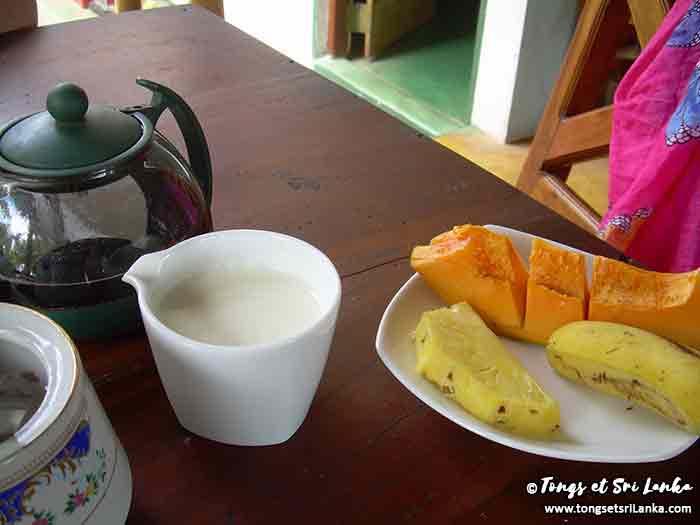 Rituel du thé au Sri Lanka