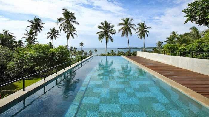 villa à Tangalle au Sri Lanka