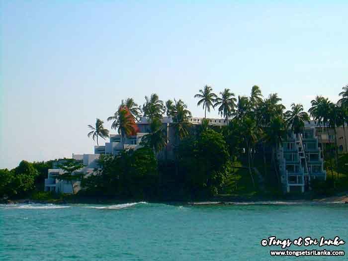 hôtel au Sri Lanka sur la côte sud par Tongs et Sri Lanka