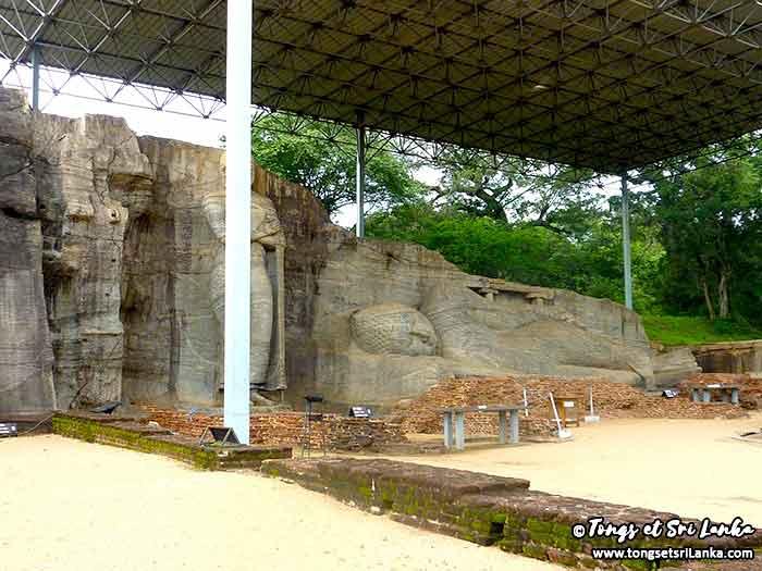 Polonnaruwa - Les ruines du Nord au Sri Lanka