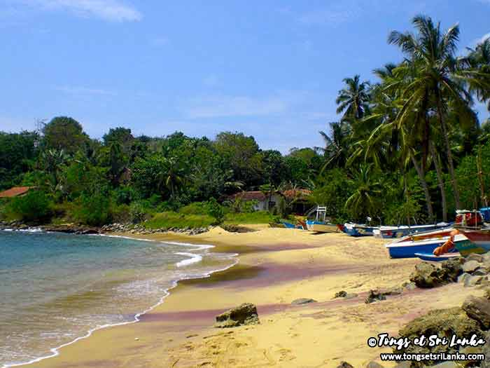 Plage au Sri Lanka par Tongs et Sri Lanka