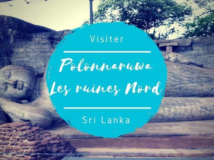 Polonnaruwa - Les ruines du nord par Tongs et Sri Lanka