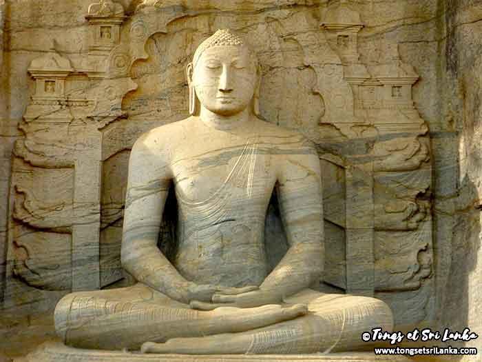 Polonnaruwa - les ruines du nord