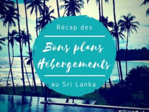 Hébergements au Sri Lanka