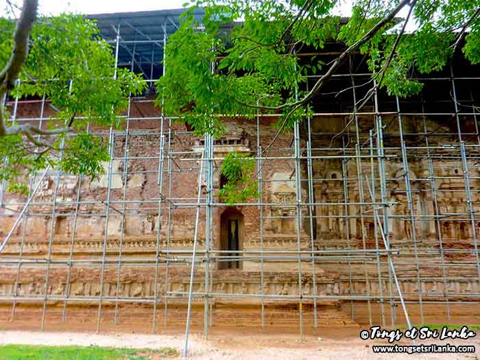 Thivanka au Sri Lanka à Polonnaruwa