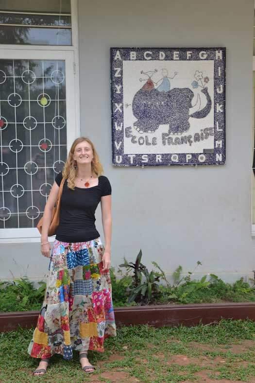 Maud dans paroles de voyageurs par Tongs et Sri Lanka