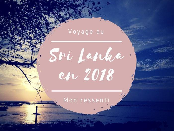 Voyager au Sri Lanka en 2018