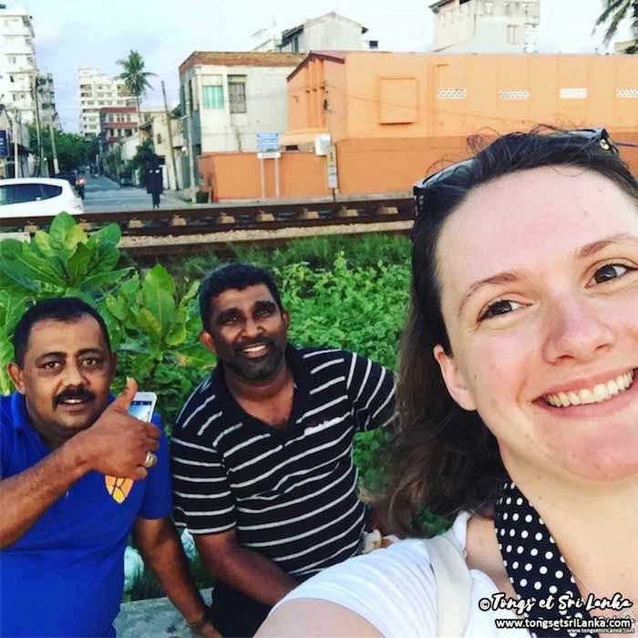 Rencontre à Colombo avec Tongs et Sri Lanka en 2018