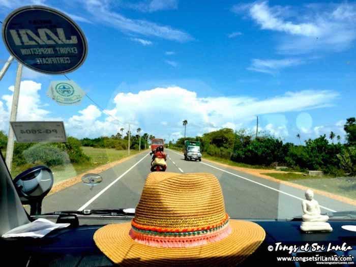 Les routes au Sri Lanka en 2018