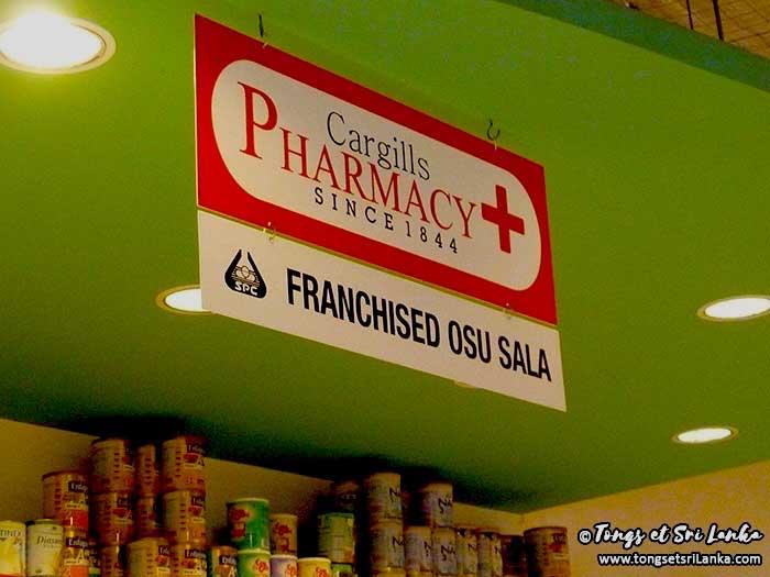 pharmacie au sri lanka