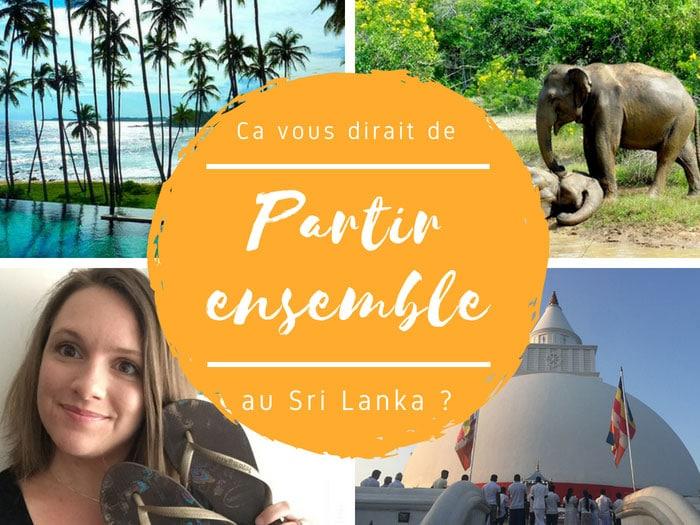 partir ensemble en voyage au sri lanka