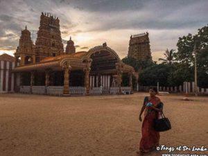 temple nallur à Jaffna au sri lanka