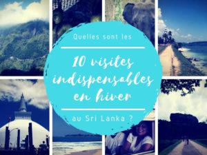 Les indispensables à visiter au Sri Lanka en hiver
