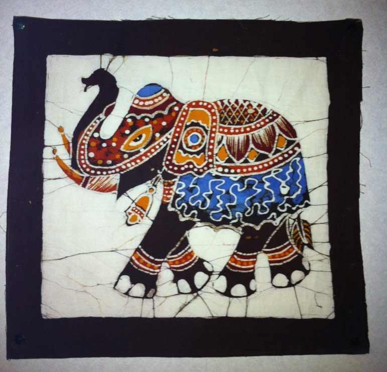 Les batiks ou l'art de la teinture au Sri Lanka!