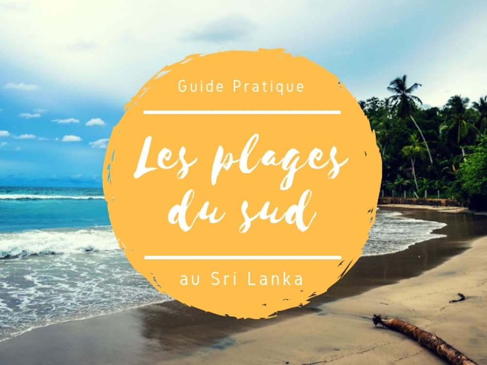 les plages du sud du sri lanka