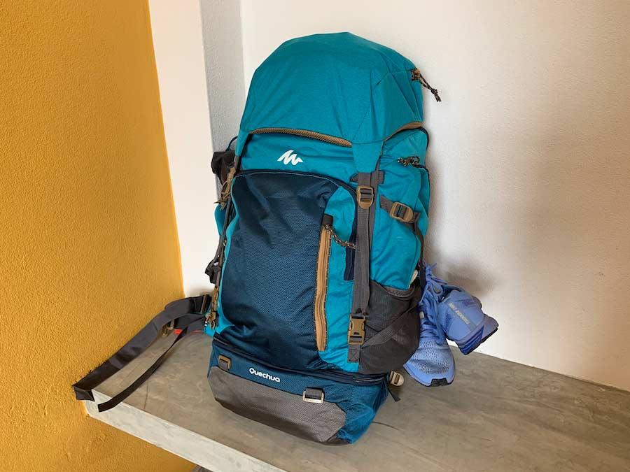 sac à dos pour le sri lanka