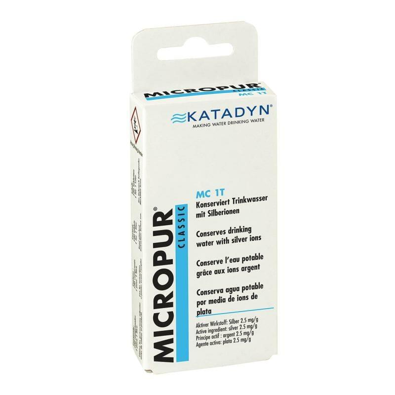 pastille purifier eau