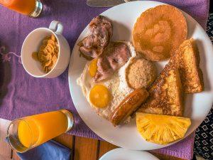 skyloft petit déjeuner