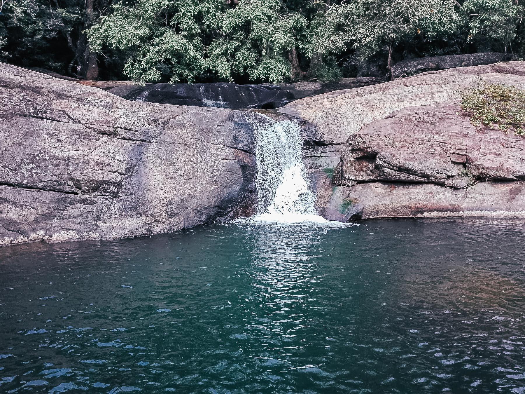 cascade au Sri Lanka