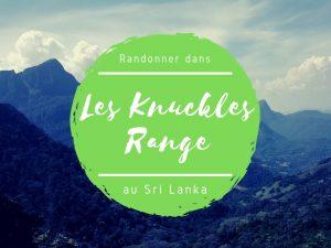 Knuckles range au Sri Lanka
