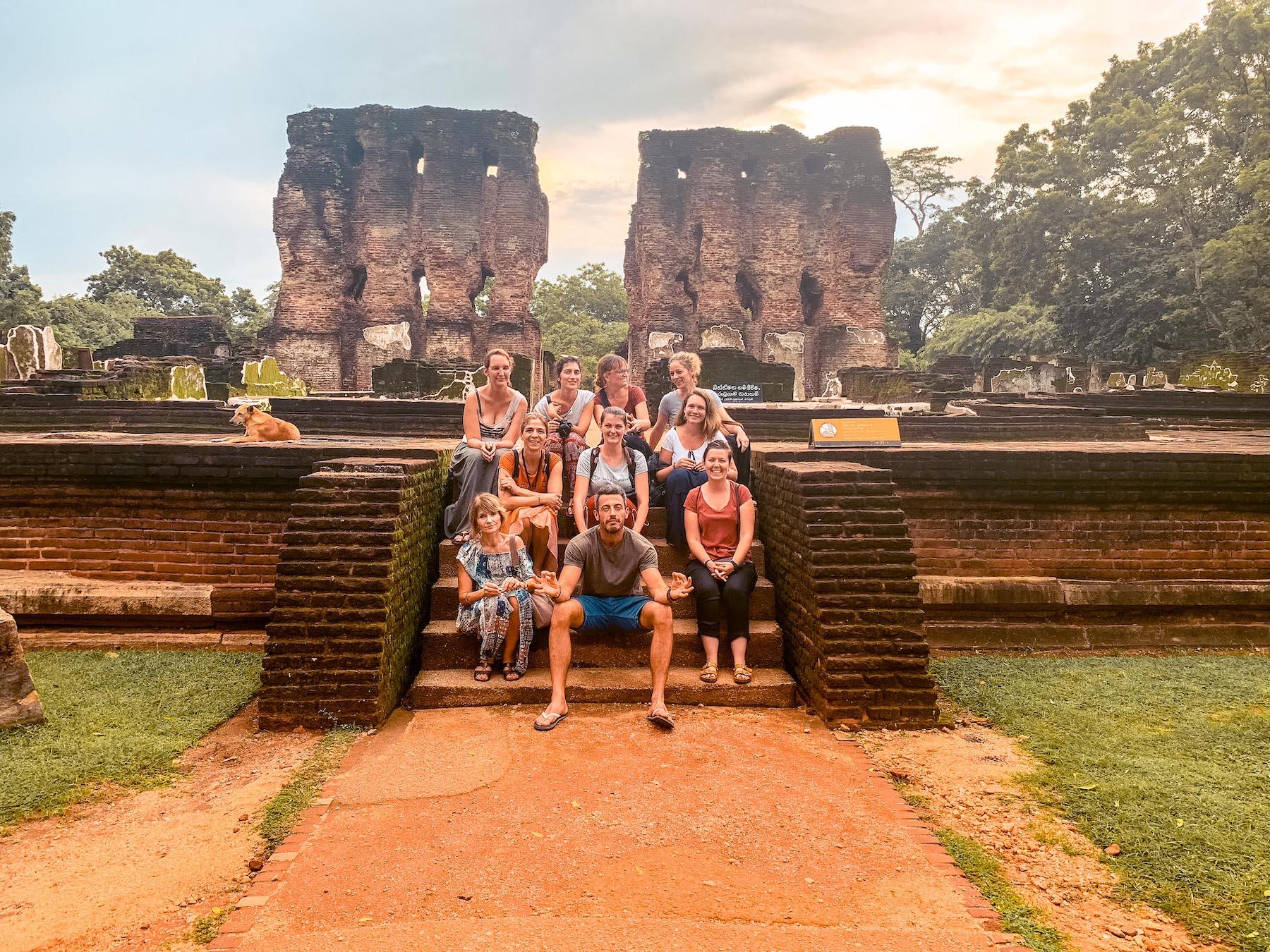 polonnaruwa au sri lanka