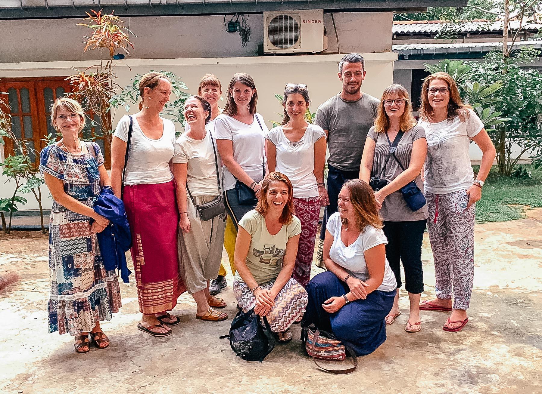 premier voyage avec les abonnés au sri lanka