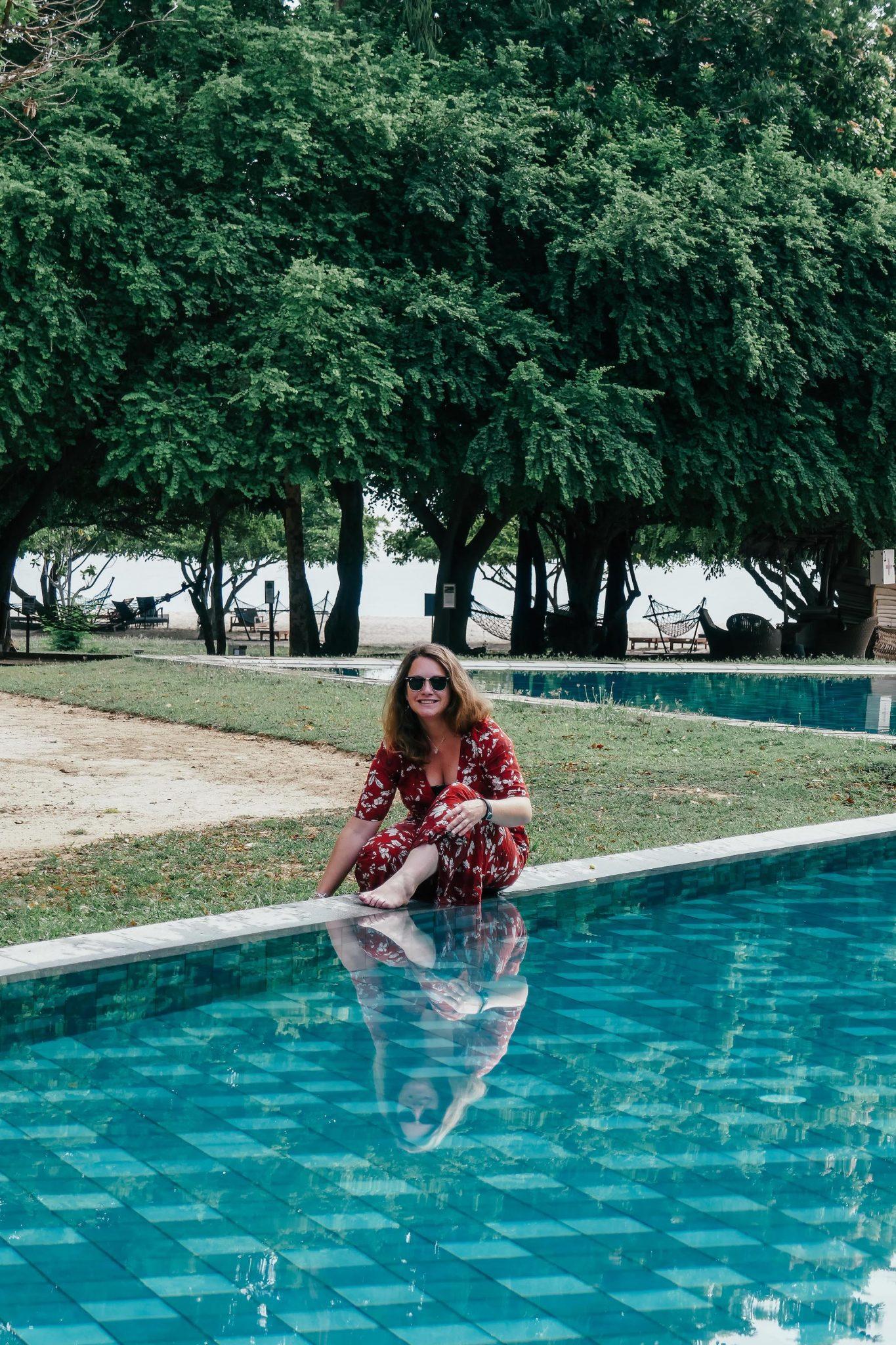 Caroline au Sri Lanka