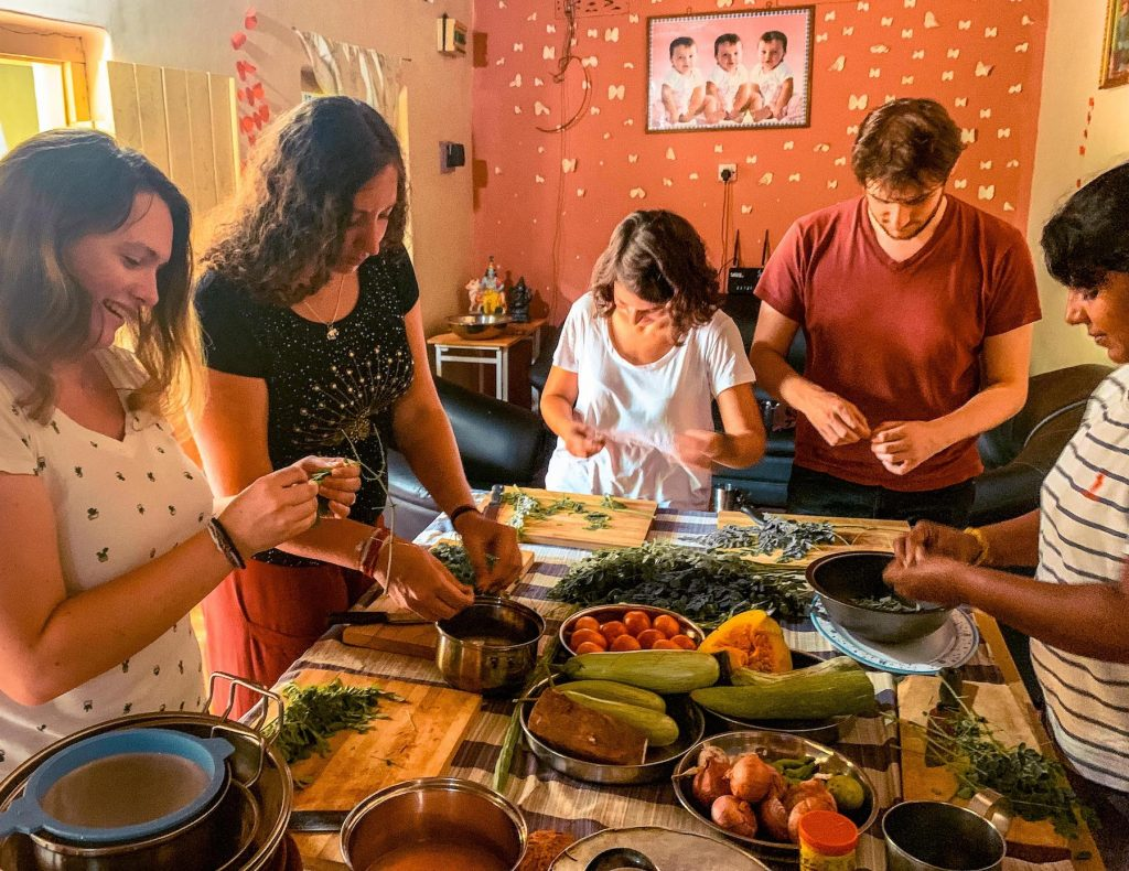 cours de cuisine à batticaloa
