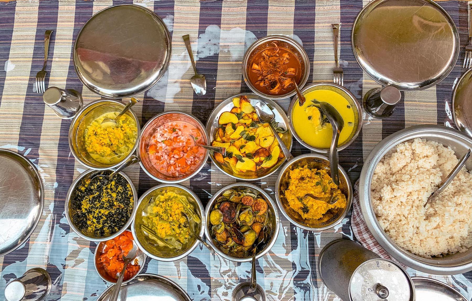 rice and curry à Batticaloa