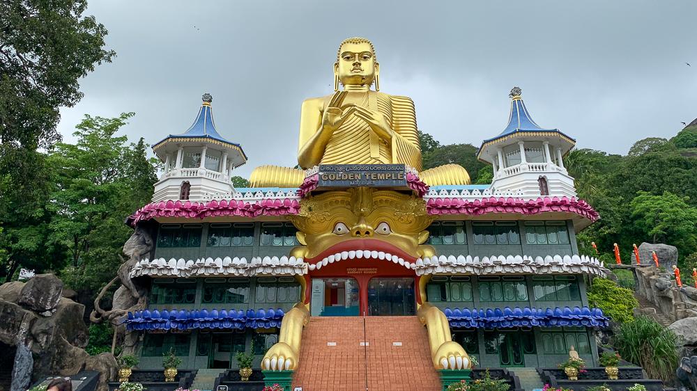 bouddha doré dambulla