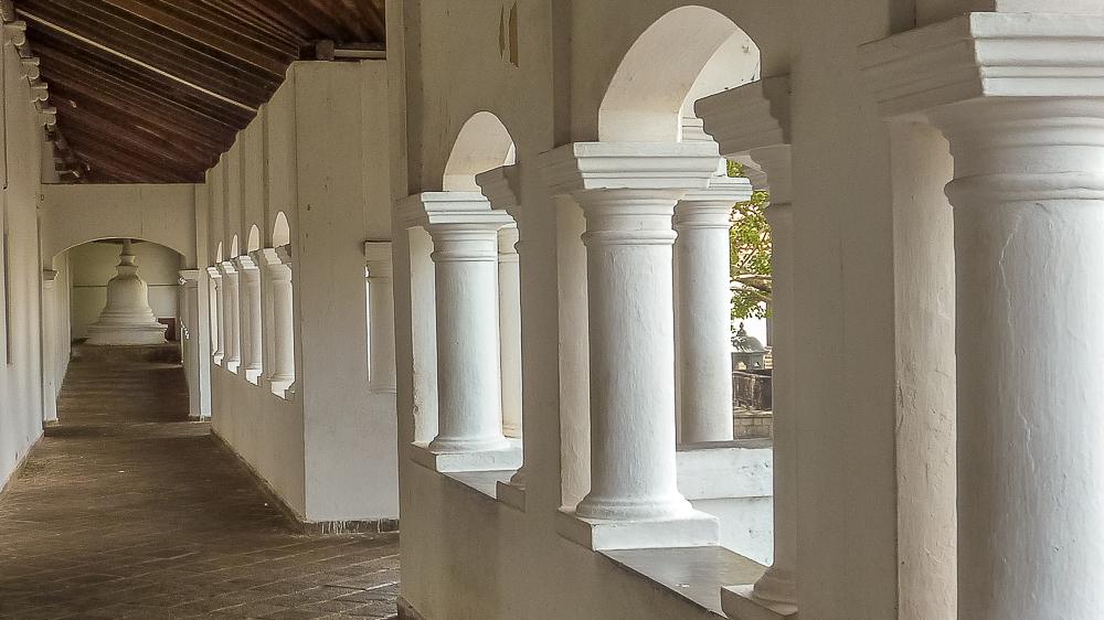 couloir des temples de dambull